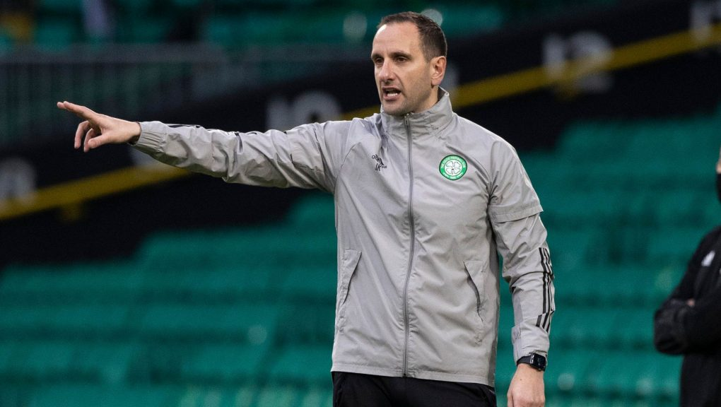 Kennedy saw Celtic win in his first game in charge.