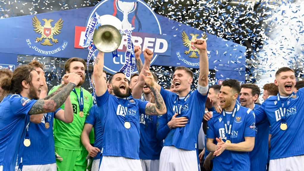 St Johnstone are League Cup champions for the first time.