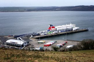 Plans for new border control post at Cairnryan.