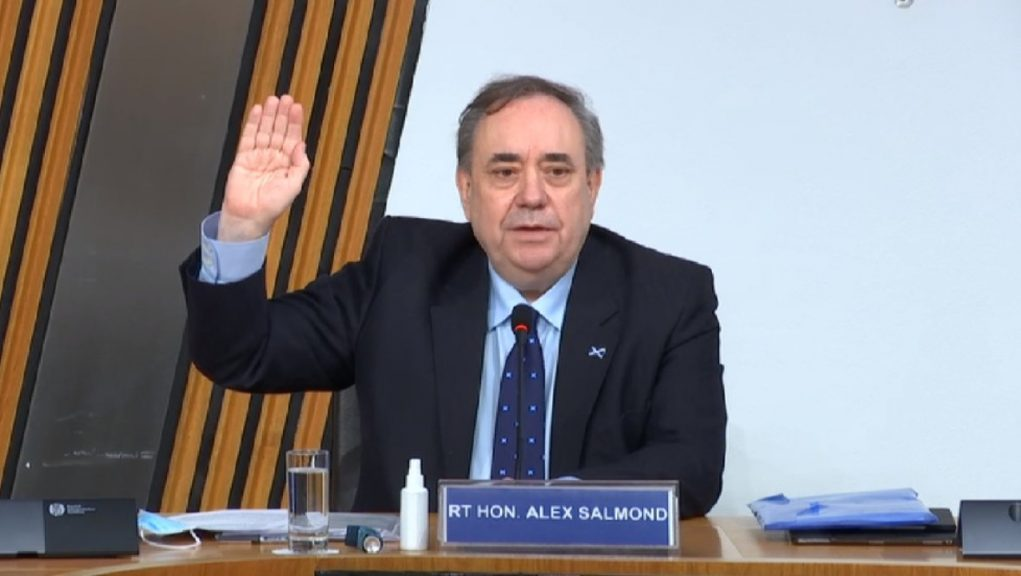 Alex Salmond was awarded more than £500,000 after a judicial review collapsed.