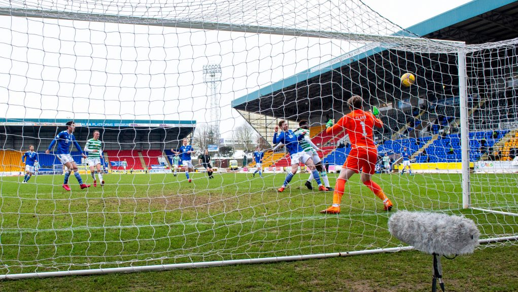 Celtic came from behind to beat St Johnstone.