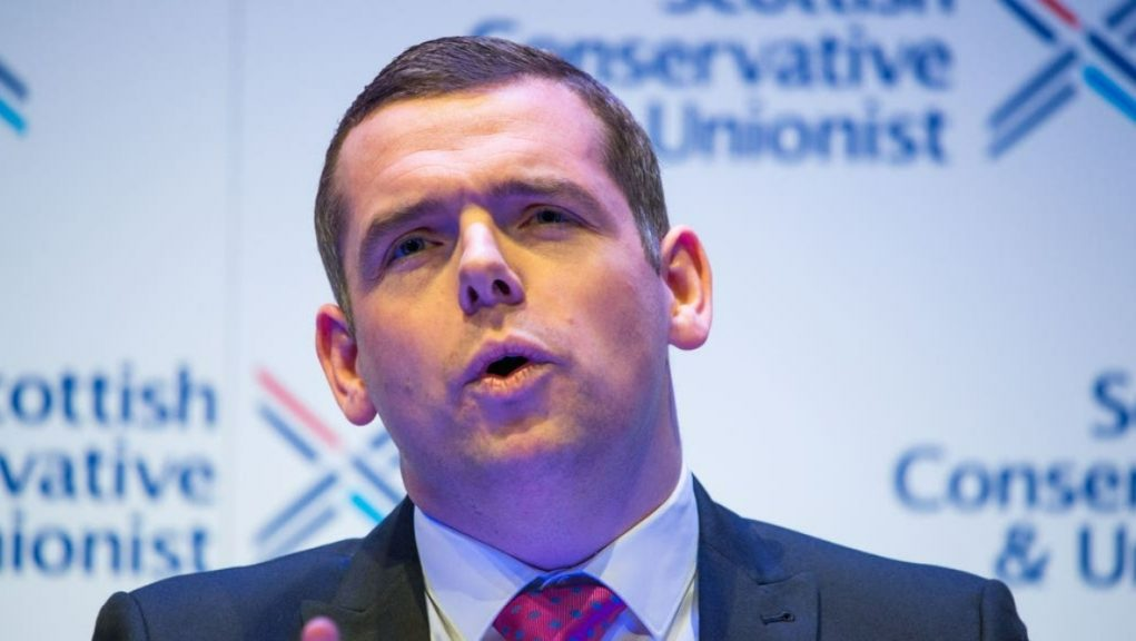 Politics: Douglas Ross has called for support from other parties in a bid to oust the First Minister.
