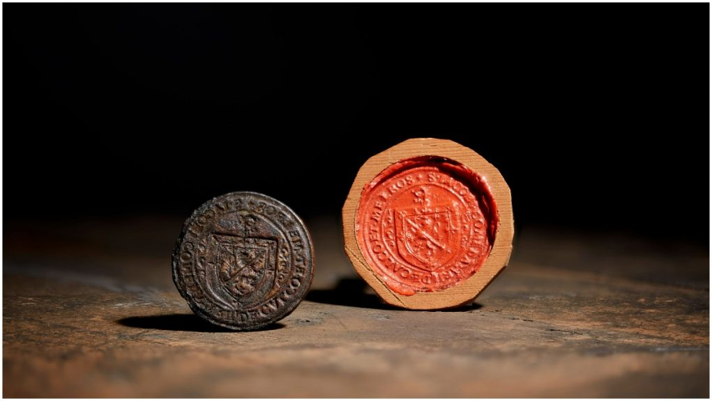 Royal: The seal has been acquired by National Museums Scotland.