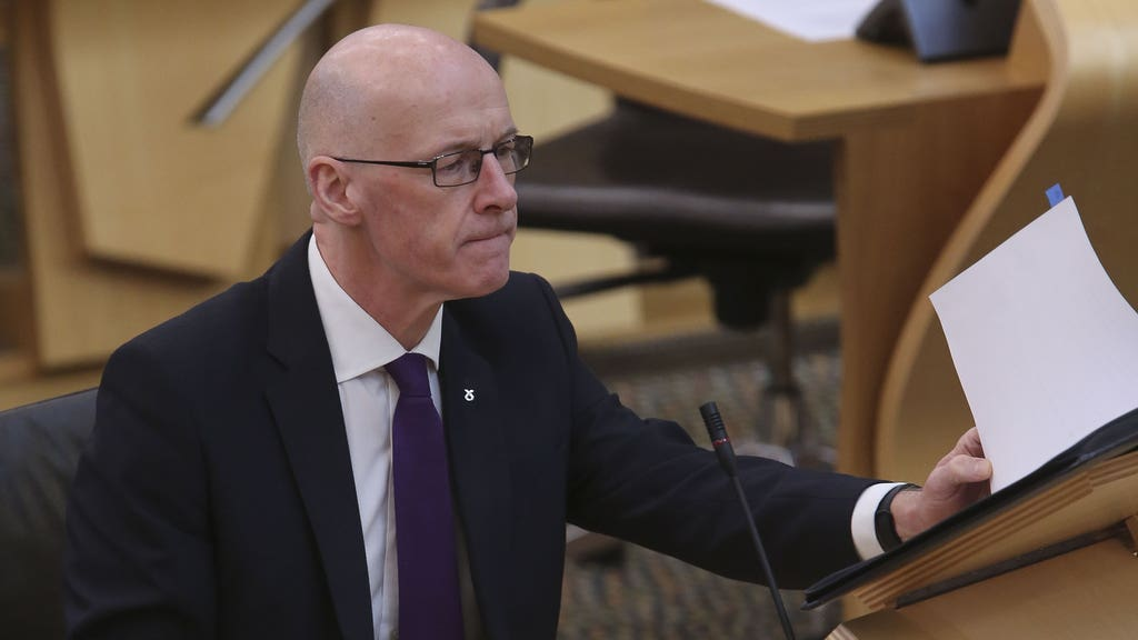 Deputy First Minister John Swinney has confirmed there were legal advice 'reservations' about the government's investigation of Alex Salmond.