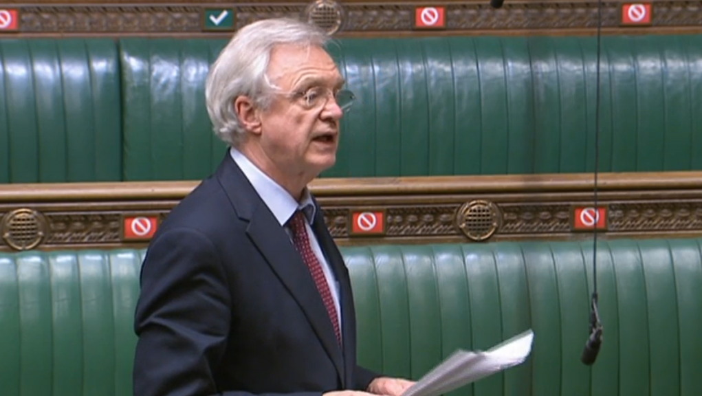 David Davis MP raised a debate in parliament.