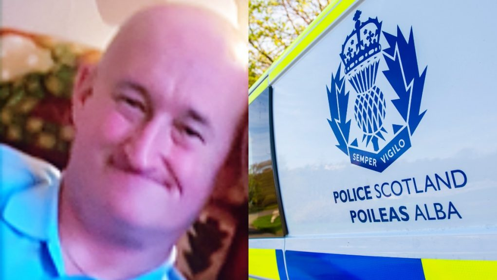Craig Millar has gone missing from his home in North Ayrshire.