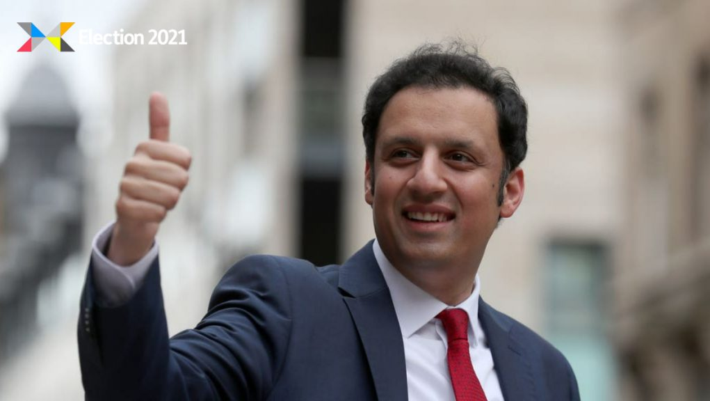 Scottish Labour: Anas Sarwar is launching an advertising campaign.