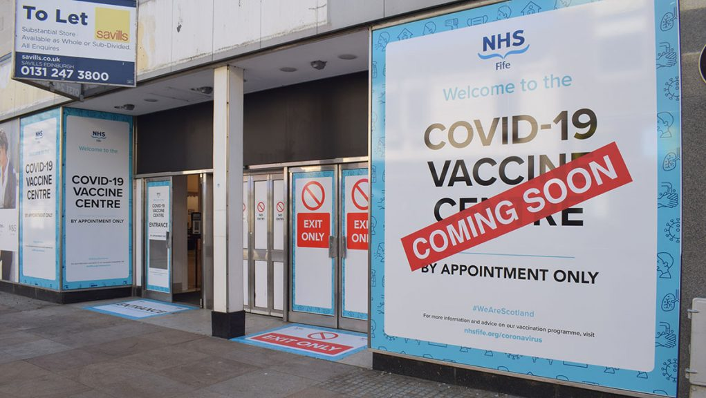 Former Marks and Spencer to become vaccination hub on Kirkcaldy High Street.