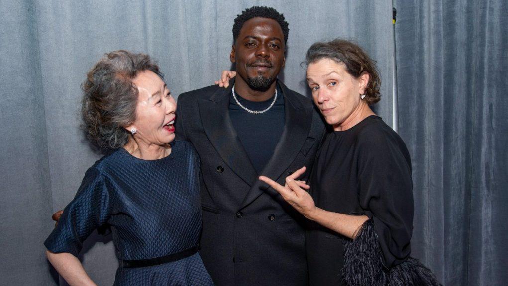 Academy Awards: Yuh-Jung Youn, Daniel Kaluuya and Frances McDormand.