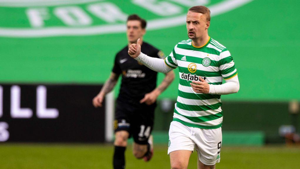 Griffiths has been linked with a move away from Celtic this summer.