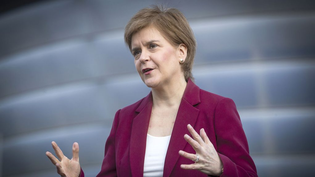 Nicola Sturgeon is pledging a 'transformational' increase in NHS funding if SNP win Holyrood election.
