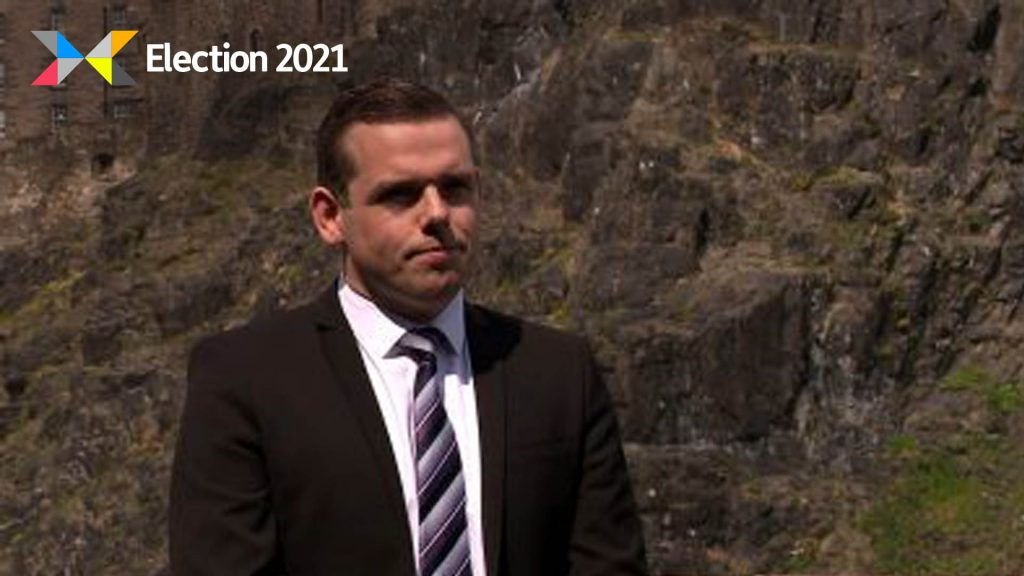 Douglas Ross is called for a 'further, faster' easing of lockdown in Scotland.