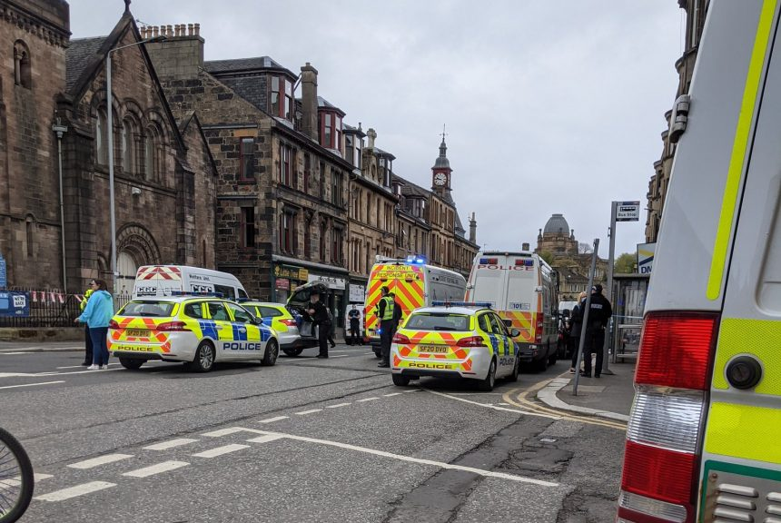 Broomlands Street: A 50-year-old was taken to hospital.