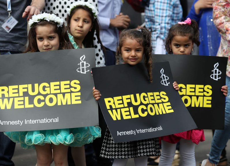 The annual Refugee Festival Scotland.