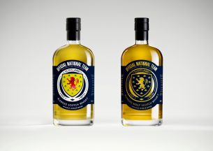 Whisky celebrating Scotland's return to the Euros will soon be opened..