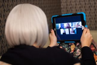 Study: Older people embracing technology to beat loneliness during pandemic.