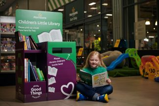 Morrisons has launched a book donation and exchange station for children – the Morrisons Little Library – in its stores across the UK which aims to promote reading.