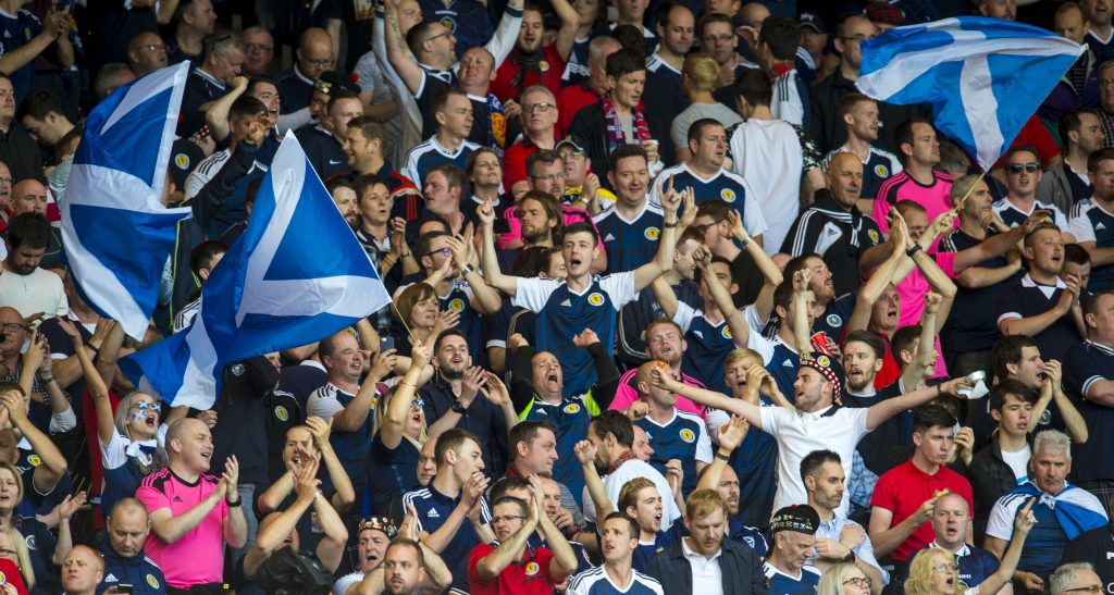 Hampden roar: Scotland fans know how to create a great atmosphere.