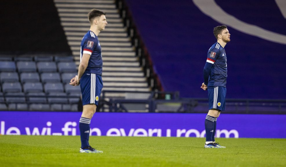 Scotland players have been 'taking a stand' against racism before recent games.
