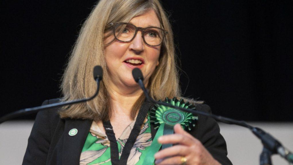 Presiding officer: Green MSP Alison Johnstone.