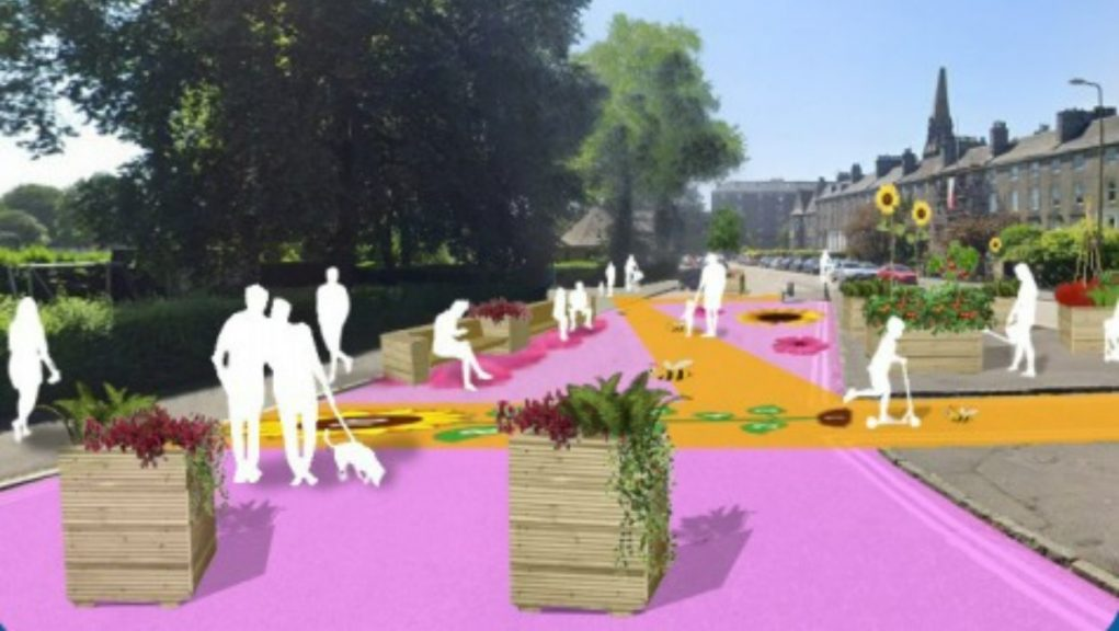 Leith: Edinburgh City Council wants to introduce a low-traffic neighbourhood scheme in the area.