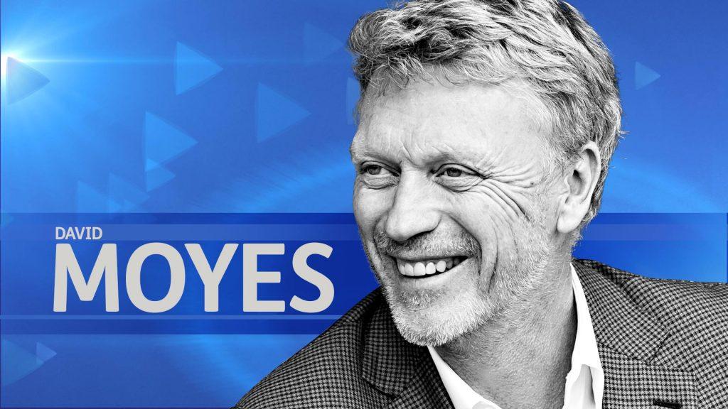 David Moyes will be part of the STV team providing live coverage of Scotland v England.