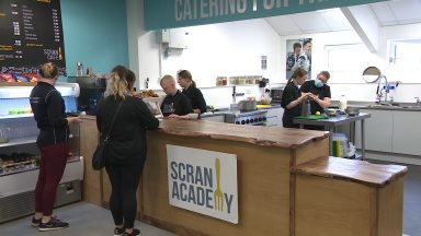The Scran Academy have launched a cafe run by young people.