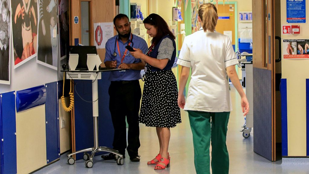 The Scottish Government aims to ensure 95% of people attending A&E are seen within four hours.