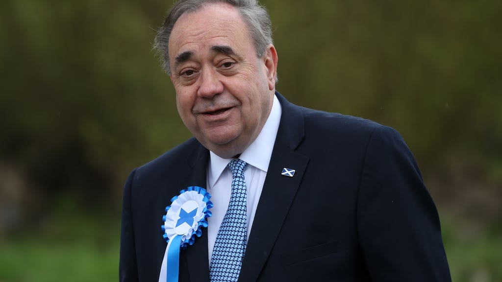 Former first minister Alex Salmond said he was considering further legal action. (Andrew Milligan/PA)