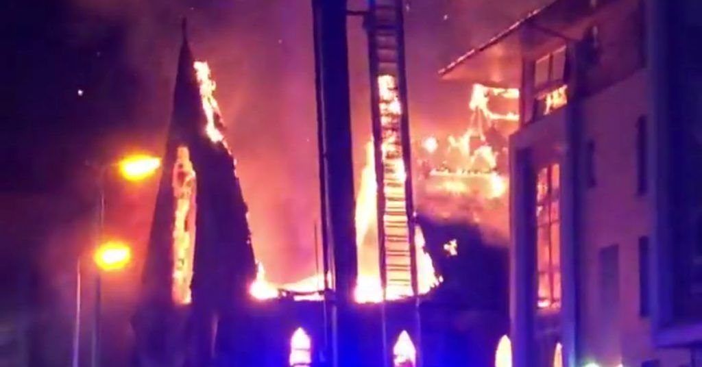 Glasgow: A man has been accused of setting fire to St Simon's Parish Church.
