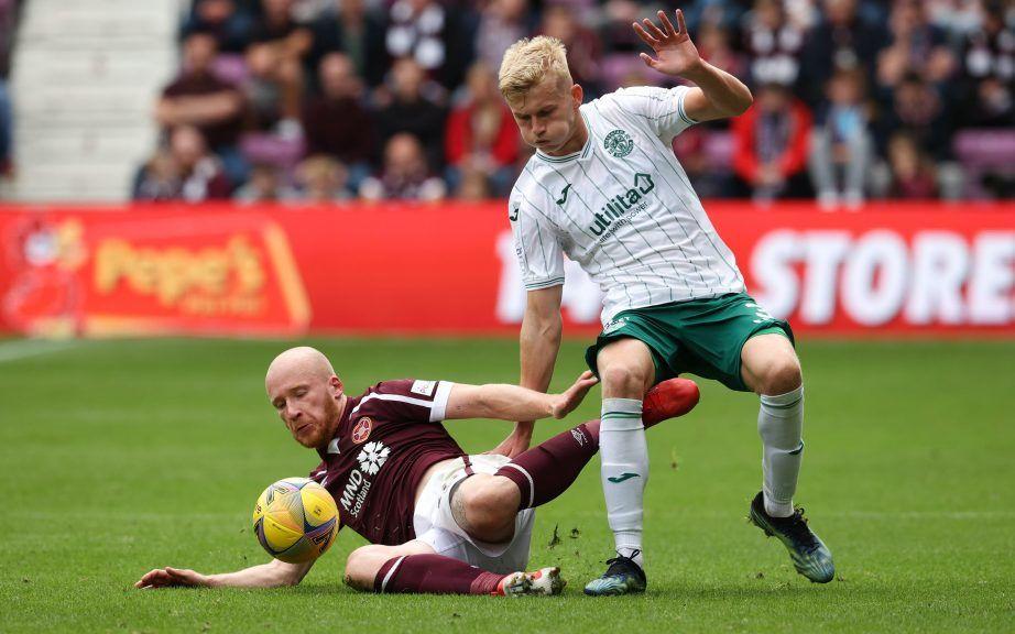 Goalless: Points shared in Edinburgh Derby.