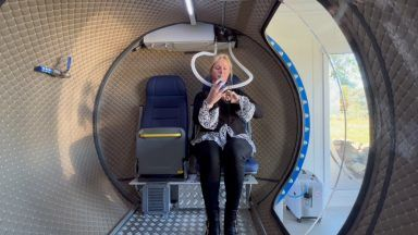 Leanne Lawrence, hyperbaric oxygen therapy.