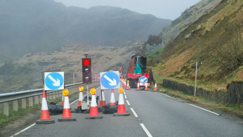 A83: Landslip-plagued road has had millions spent on it.