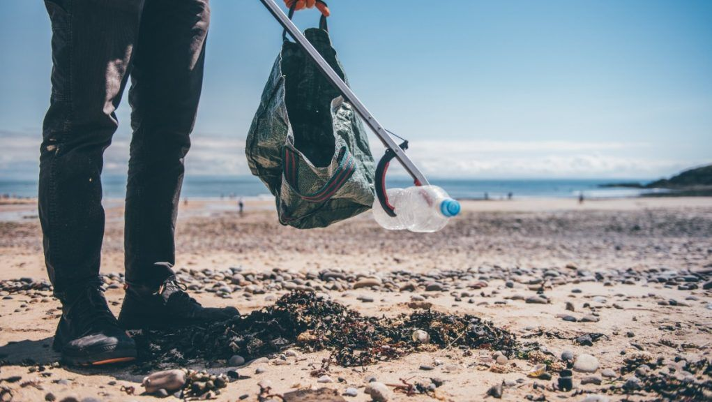 Beach clean: volunteers urged to sign up for beach cleaning events.