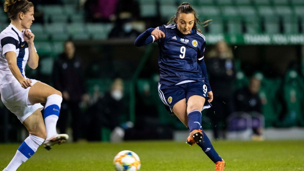 Caroline Weir will miss the games against Hungary and Faroe Islands.