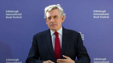 Gordon Brown, PA Ready.