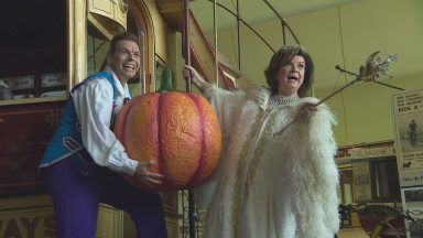Elaine C. Smith and Johnny Mac, Cinderella.
