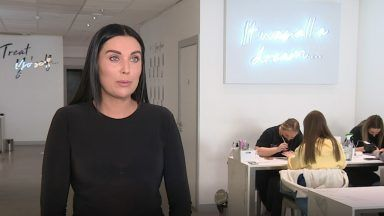 Jayd Linney, owner of Nailco Nail Bar in Aberdeen and Glasgow.