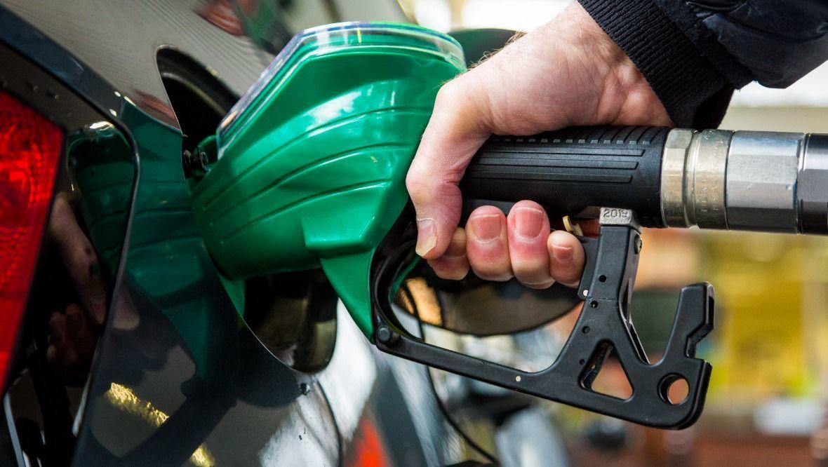 Stock image of petrol.