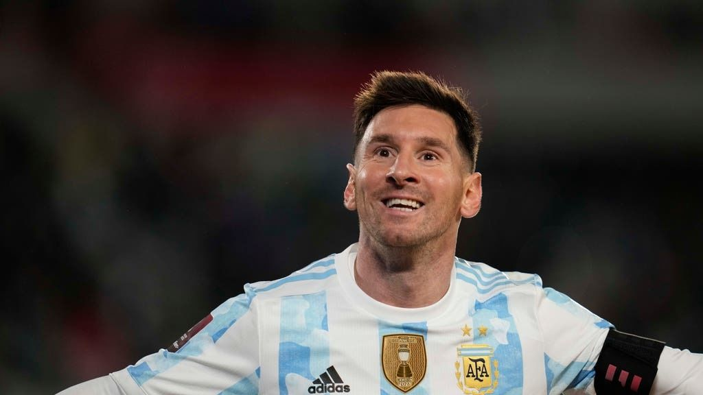 Messi: Top South American scorer.