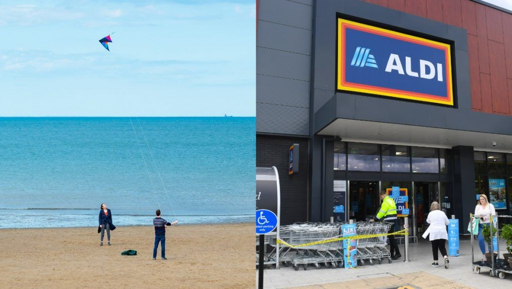 A beach and a nearby Aldi are top of Scots' wishlists.