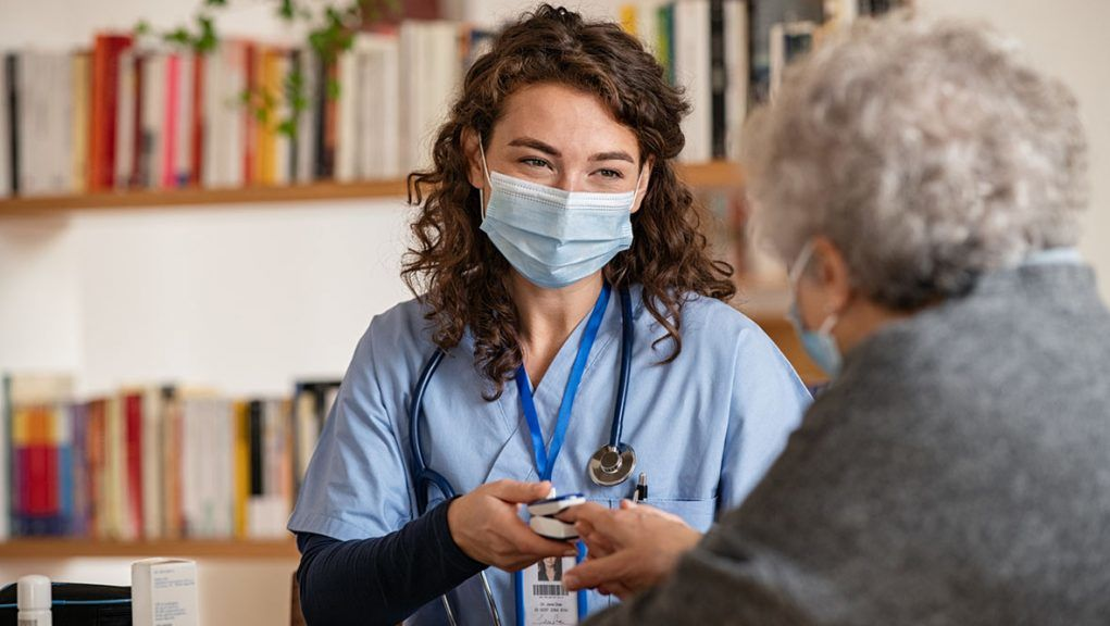 GP services were scaled back during the coronavirus pandemic.