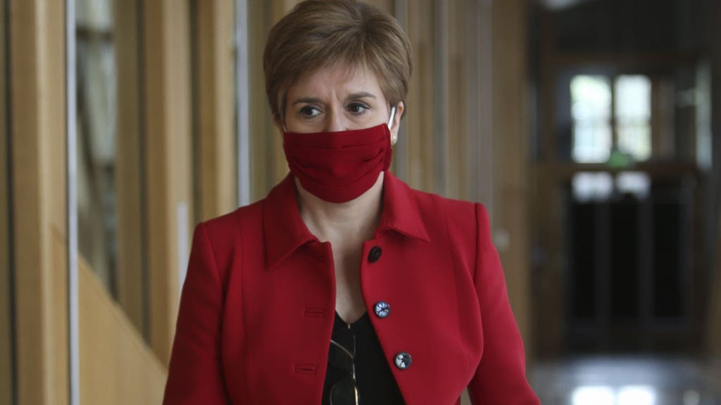 First Minister Nicola Sturgeon said she is extremely concerned about rising energy prices.