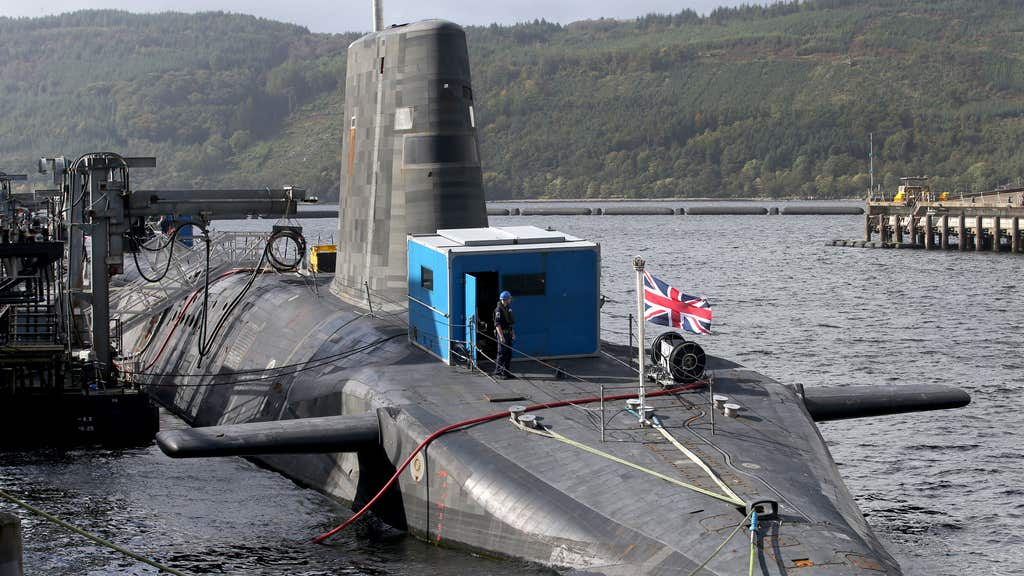 The Scottish Government said it is committed to the 'safe and complete withdrawal of Trident from Scotland'.