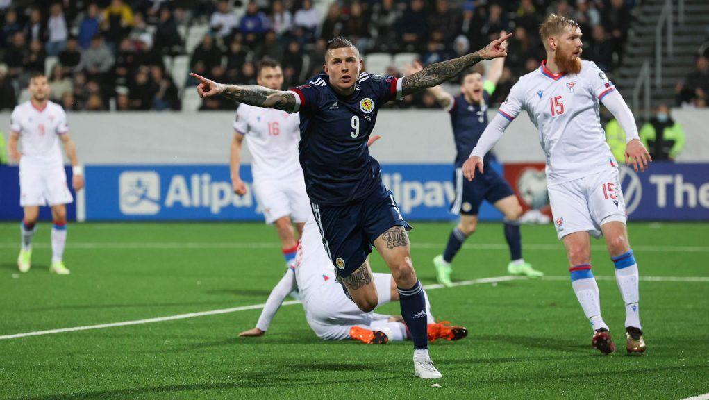 Lyndon Dykes has now scored in four consecutive Scotland games.