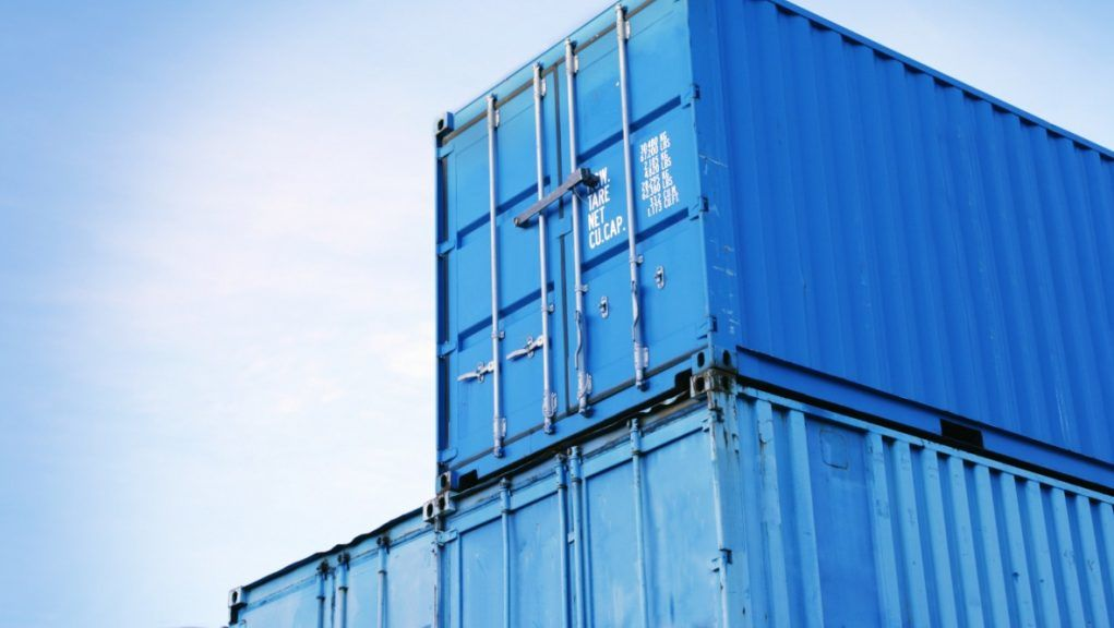Planning refused: A stock image of shipping containers.