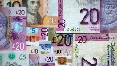 Stock image of money, PA Ready.