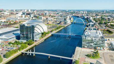 Stock image of Glasgow.