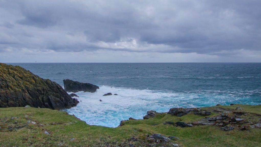 Memorial: Stone cairn to be erected in memory of tragic fishermen.