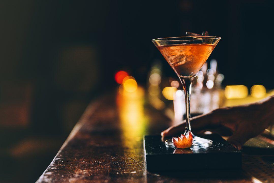 Nightclub drink.